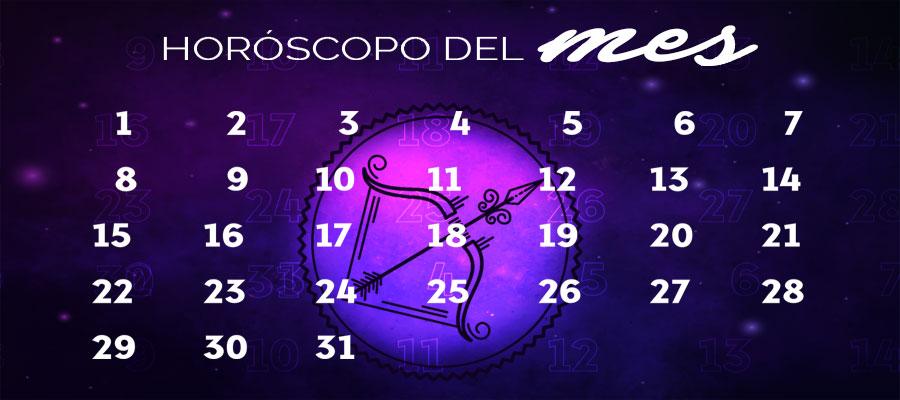 Horóscopo Sagitario Mensual – Horóscopo del mes Sagitario