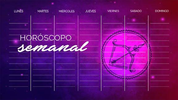Horóscopo Sagitario semanal- sagitariohoroscopo.com
